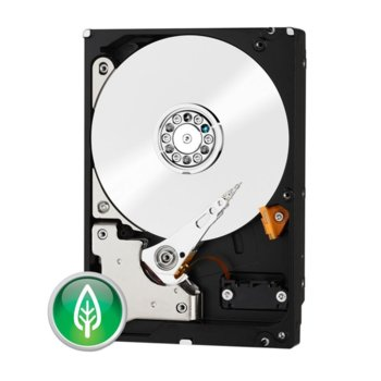 """Твърд диск 2TB WD Green, SATA 6Gb/s, 7200rpm max, 64MB, 3.5""""(8.89 cm) image"""