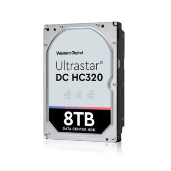 """Твърд диск 8TB HGST Ultrastar DC HC320 HUS728T8TAL4204(0B36399), SAS 12Gb/s, 7 200 rpm, 256MB кеш, 4Kn sector size(Secure Erase), 3.5"""" (8.89 cm) image"""