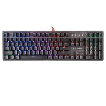 Клавиатура A4Tech Bloody B810R, подсветка, механична, черна, USB image