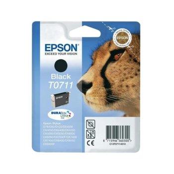 Мастило за Epson T0711 - Black - C13T07114012 - 7.4ml, 350к image