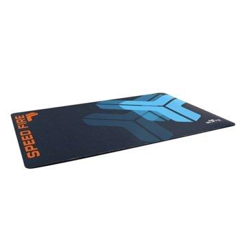 Подложка за мишка TnB Elyte Shield Gaming, гейминг, синя 260 x 440 mm image