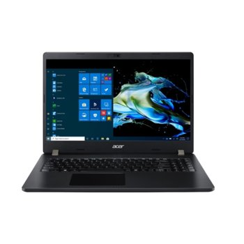 "Лаптоп Acer TravelMate P215-52-55D4 (NX.VLNEX.008) четириядрен Comet Lake Intel Core i5-10210U 1.6/4.2 GHz, 15.6"" (39.62 cm) Full HD Anti-Glare Display, (HDMI), 8GB DDR4, 256GB SSD, 3x USB 3.1, Windows 10 Pro Education image"