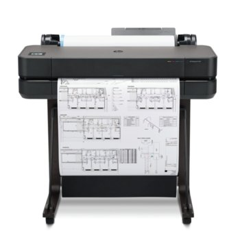Плотер HP DesignJet T630, 2400 x 1200 dpi, 1GB, LAN, Wi-Fi, USB, A4, A3, A2, A1 image