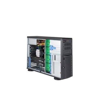 Сървър Supermicro AS-5049A-T-OTO-15, осемядрен Cascade Lake Intel Xeon Silver 4208 2.1/3.2 GHz, 16GB DDR4, 480GB SSD, 2x 1GbE, без ОС, 1200W redundant PSU image