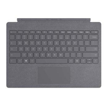 Клавиатура Microsoft Surface Pro Type Cover Lite Charcoal, за Surface Pro 7, Surface Pro 3, Surface Pro 4, Surface Pro (5th Gen), Surface Pro 6, сива image