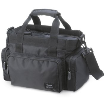 Чанта Canon carrying case SC-2000 9389A001AA, съвместима с Canon камери DC, Elura, FS, HF, Optura, Vistura, Vixia, ZR, черна image