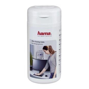 Почистващ комплект HAMA за повърхности, 100бр.кърпички image