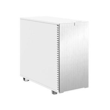 Кутия Fractal Design Define 7 White Solid, E-ATX (max 285 mm)/ATX/mATX/mITX, USB 3.1 Gen 2 Type-C, бяла, без захранване image