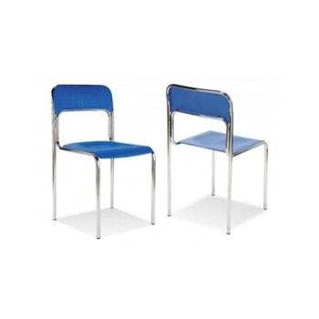 Посетителски стол Nowy Styl Cortina, до 120кг. макс тегло, син image