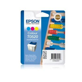 ГЛАВА ЗА EPSON STYLUS COLOR 400/440/460/500/600/640/660/670/740/760/800/850/1160/1520 - S020191/S020089 - Color - P№ C13T05204010 image