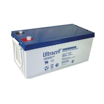 Акумулаторна батерия Ultracell UCG200-12, 12V, 200 Ah, VRLA image