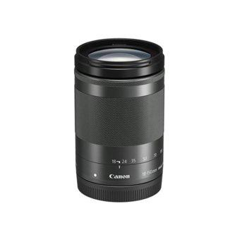 Обектив Canon EF-M 18-150mm f/3.5-6.3 IS STM, за Canon, черен image