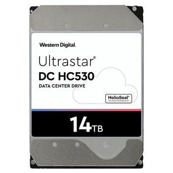 """Твърд диск 14TB Western Digital 14TB Ultrastar DC HC530, SATA 6Gb/s, 7200 rpm, 512MB кеш, 3.5"""" (8.89cm) image"""
