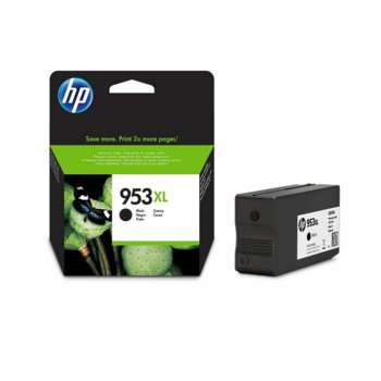 HP 953XL High Yield Black Original Ink L0S70AE product