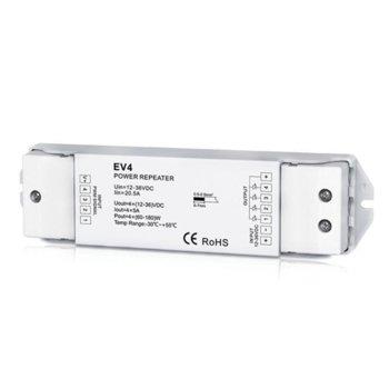 LED усилвател Elmark EM99REPEATER4, 30m обхват, 4 зони image