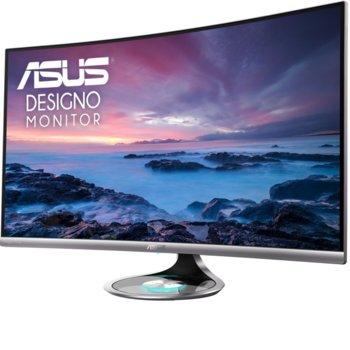 "Монитор Asus Designo Curve MX32VQ, 32"" (81.28 cm cm) VA панел, 75 Hz, QHD, 4ms, 300 cd/m2, DisplayPort, HDMI, 3.5mm jack image"