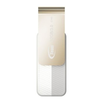 Памет 32GB USB Flash Drive, Team Group C143, USB 3.0, бяла image