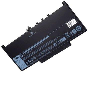 Батерия (оригинална) за лаптоп Dell, съвместима с DELL Latitude 14 E7270/E7470, 4-cell, 7.4V, 7400mAh image