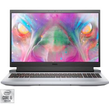 "Лаптоп Dell Inspiron 5510 G15 (DI5510I58512GTXUBU)(сив), четириядрен Comet Lake Intel Core i5-10200H 2.4/4.1 GHz, 15.6"" (39.62 cm) Full HD 120 Hz Anti-Glare Display & GF GTX 1650 4GB, (HDMI), 8GB DDR4, 512GB SSD, Linux image"