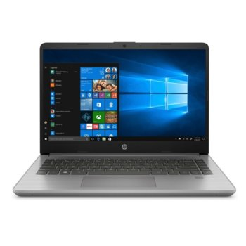 "Лаптоп HP 340S G7 (2D220EA)(сребрист), четириядрен Comet Lake Intel Core i5-1035G1 1.8/3.6 GHz, 14"" (35.56 cm) Full HD IPS Anti-Glare Display, (HDMI), 16GB DDR4, 512GB, 1x USB 3.1 Type-C, Free DOS  image"