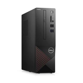 Настолен компютър Dell Vostro 3681 SFF (N214VD3681EMEA01_2101), шестядрен Comet Lake Intel Core i5-10400 2.9/4.3 GHz, 4GB DDR4, 1TB HDD, 4x USB 3.2 Gen 1, клавиатура и мишка, Windows 10 Pro image