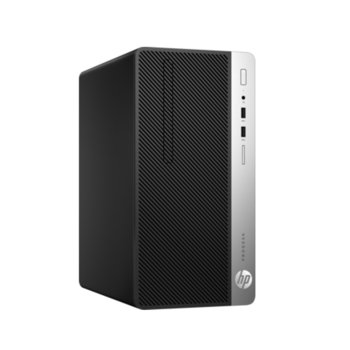 Настолен компютър HP ProDesk 400 G4 (1JJ50EA), четириядрен Intel Core i5-7500 3.4/3.8GHz, 8GB DDR4, 1TB 7200 rpm, 4x USB 3.1, Windows 10 Pro image