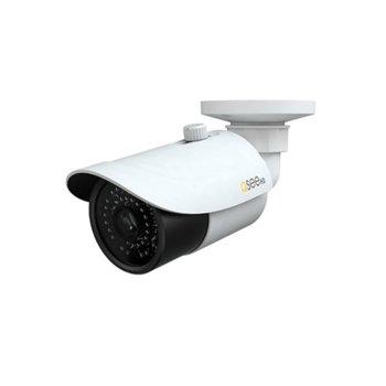 """IP камера Q-See QTN8086B, насочена """"булет"""", 8 Mpix(3840×2160@30FPS), 4mm обектив, H.265 MP; H.264 BP / MP / HP; MJPEG, IR осветеност (до 30м), външна IP66 защита, PoE, RJ-45 (10/100Base-T) image"""