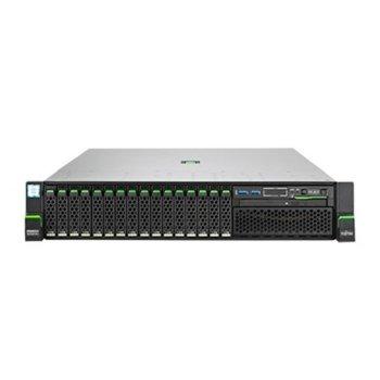Сървър Fujitsu Primergy RX2520 M4 (R2524SC070IN), осемядрен Skylake Xeon Silver 4110 2.1/3.0 GHz, 16GB DDR4 UDIMM, без твърд диск, 2x GbE, 7x USB 3.0, без ОС, 450W PSU image