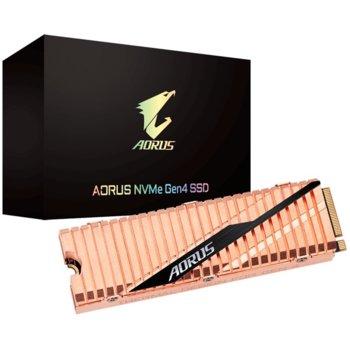 Gigabyte AORUS 2TB NVMe PCIe Gen4 SSD product