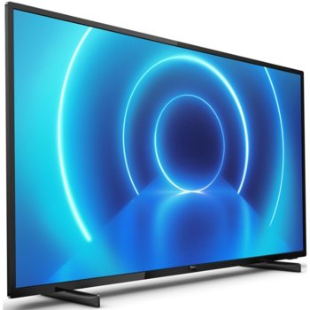 "Телевизор Philips 50PUS7505/12, 50""(126 см), 3840x2160, HDR, DVB-T/T2/T2-HD/C/S/S2, HDMI, LAN, WiFi, USB, енергиен клас G image"