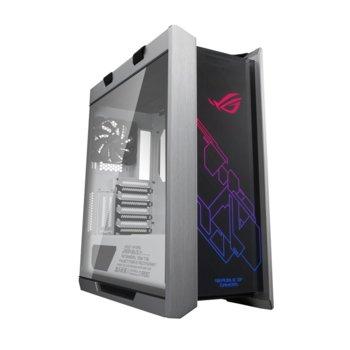 Кутия Asus ROG Strix Helios White Edition, ATX/micro ATX/Mini ITX/EATX, USB 3.1 Type C Gen 2, AURA SYNC RGB, бяла, без захранване image