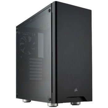 Кутия Corsair Carbide Series 275R, ATX, 2x USB 3.0, порзорец, черна, без захранване image