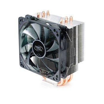 Охлаждане за процесор DeepCool GAMMAXX 400, Intel LGA LGA1150/1151/1155/1156/2011-0/2011-3/775/1366, AMD AM4/AM3+/AM3/AM2+/AM2/FM2+/FM2/FM1 image