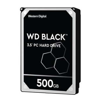 500GB WD Caviar® Black™ SATA 6Gb/s 7200rpm 64MB product