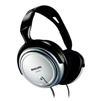 Слушалки Philips SHP2500, за мобилни устройства и TV, 6 метров кабел, сребристи image