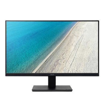"Монитор Acer V277K (UM.HV7EE.013), 27"" (68.58 cm) IPS панел, 4K, 4ms, 100000000:1, 300 cd/m2, DisplayPort, HDMI, 100% sRGB image"