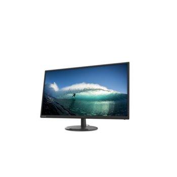 """Монитор Lenovo D32q-20, 31.5"""" (80.01 cm) IPS панел, QHD, 4 ms, 1000:1, 250 cd/m2, DisplayPort, HDMI image"""