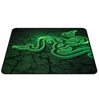 Подложка за мишка, Razer Goliathus Control Fissure Edition Medium, зелена, 355 x 254 x 3mm image