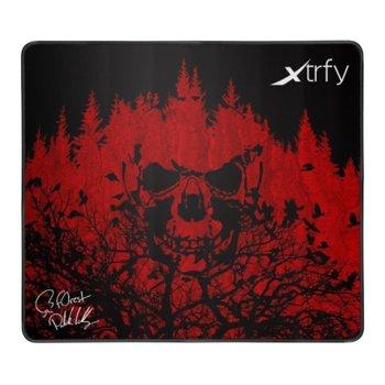 Подложка за мишка Xtrfy XTP1 L - f0rest, гейминг, 460 x 400 x 4 мм image
