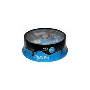 Оптичен носител BD-R media 25 Gb, Maxell, 25 бр. image