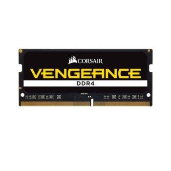 Памет 16GB DDR4 2666MHz, SO-DIMM, Corsair CMSX16GX4M1A2666C18, 1.2V image