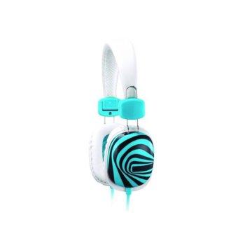 Слушалки Genius HS-M470, бял, микрофон image