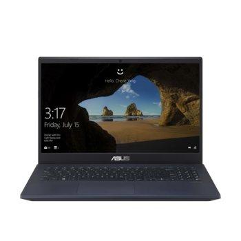 "Лаптоп Asus N571GD-WB711 (90NB0NR1-M08820), шестядрен Coffee Lake Intel Core i7-9750H 2.6/4.5 GHz, 15.6"" (39.62 cm) Full HD Anti-Glare Display & GeForce GTX 1050 4GB, (HDMI), 8GB DDR4, 512GB SSD, 1x USB Type-C, No OS image"