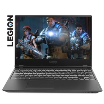 "Лаптоп Lenovo Legion Y540-15IRH-PG0 (81SY008VRM), четириядрен Coffee Lake Intel Core i5-9300H 2.4/4.1 GHz, 15.6"" (39.62 cm) Full HD IPS Anti-Glare Display & GTX 1650 4GB, (mDP), 8GB DDR4, 256GB SSD, 1x USB-C, No OS image"