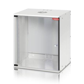 "Комуникационен шкаф Formrack SH-12U, 19"", 4U, 512 x 400 mm, сив image"