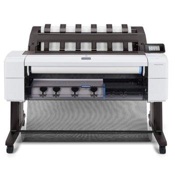 """Плотер HP DesignJet T1600dr 3EK12A, клас 5-цветен 36"""" (914 mm), 2400x1200 dpi, 128GB RAM, 500GB твърд диск, LAN 10/100/1000Base-TX, A0 image"""