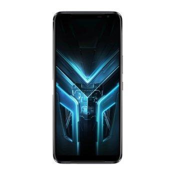 "Смартфон Asus ROG Phone 3 Strix Edition (черен), поддържа 2 sim карти, 6.59"" (16.73 cm) AMOLED 144Hz дисплей, осемядрен Snapdragon 865 2.84 GHz, 8GB RAM, 256GB Flash памет, 64.0 + 13.0 + 5.0 & 24.0 MP, Android 10 image"