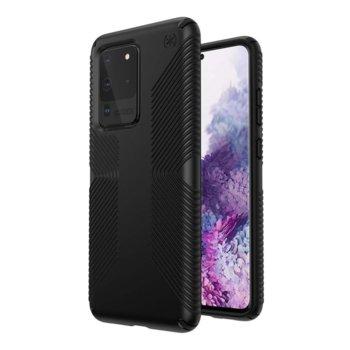 Калъф за Samsung Galaxy S20 Ultra, хибриден, Speck Presidio Grip 136381-1050, удароустойчив, черен image