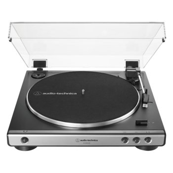 Грамофон Audio-Technica AT-LP60XUSB, нaпълнo aвтoмaтичен, ремъчно задвижване, максимум 45 об/мин, USB, черен image