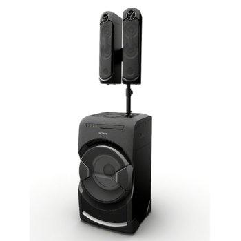 Аудио система Sony MHC-GT4D Party System, CD, FM, USB, Bluetooth image